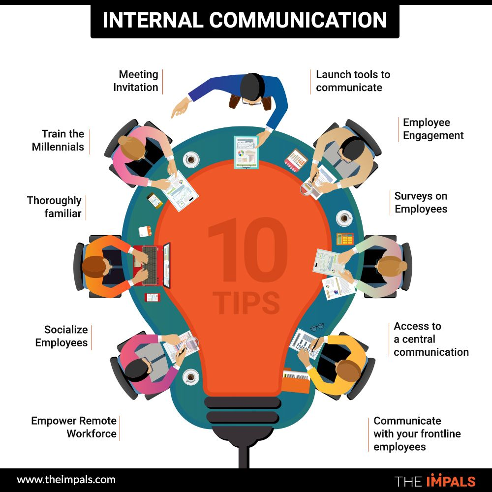 10 Tips for Great Internal Communication