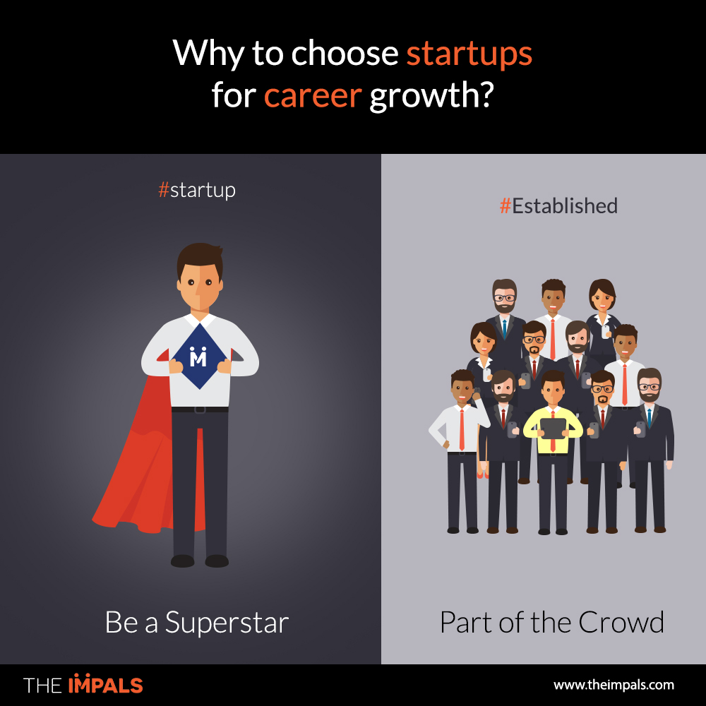 Why to choose startups for career growth